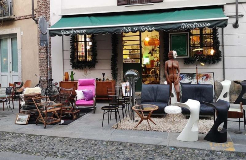 Arte 17 Scarlata Torino antiquariato modernariato Balon