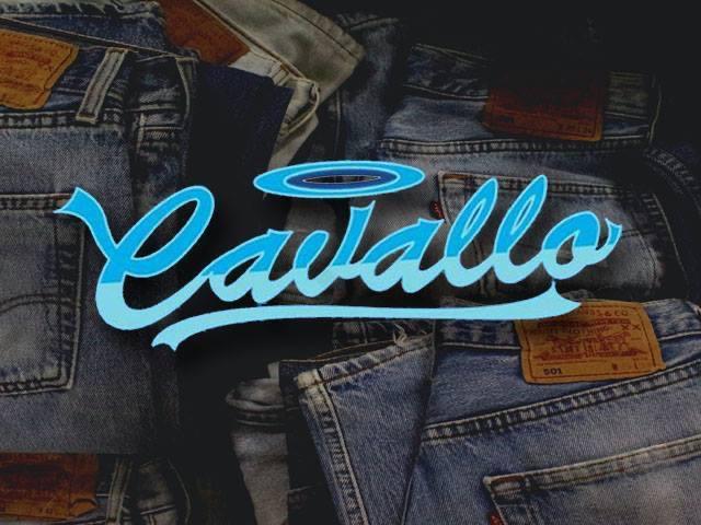 Cavallo jeans vintage balon torino